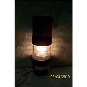 Boaters Resale Shop of TX 1901 2721.11 AQUA SIGNAL SW40 TRICOLOR NAV LIGHT ONLY