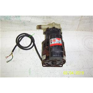 Boaters Resale Shop of TX 1902 0274.05 MARCH AC-5C-MD 115 VOLT AC PUMP & MOTOR