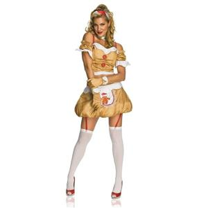 Rubie's Costume Secret Wishes Gingerbread Girl Dress Size Small
