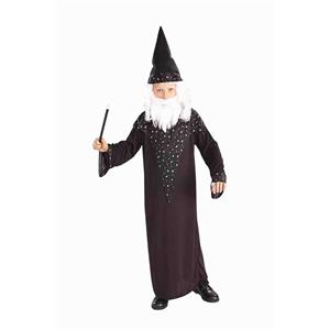 Kids Wizard Child Costume Medium 8-10