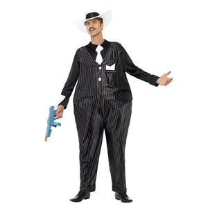 Fat Cat Adult Gangster Costume