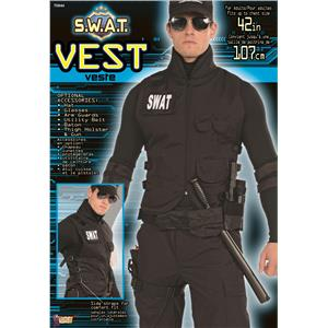 S.W.A.T. Vest Adult Costume Accessory