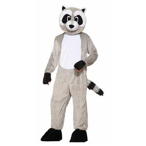 Rickey Raccoon Adult Mascot Costume