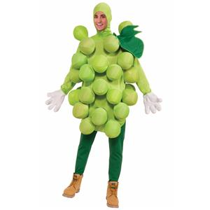 Green Grapes Fruit Adult Unisex Costume