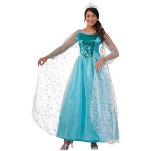Princess Krystal Ice Princess Adult Costume Size Standard