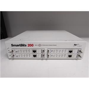 Spirent SmartBits SMB-200 Mainframe, 4 slots w/  four ML7710 modules, SMB200