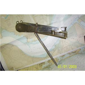 Boaters Resale Shop of TX 1902 2451.05 BOW ANCHOR ROLLER OFF A BRISTOL 30