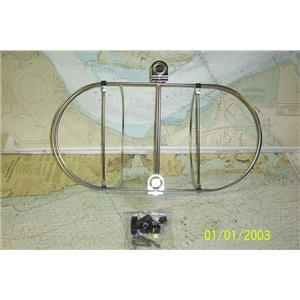 """Boaters Resale Shop of TX 1901 2724.02 DOUBLE 11"""" FENDER HOLDER WITH HARDWARE"""