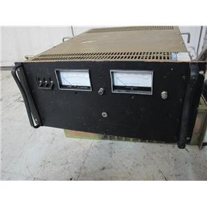 Lambda EMI TCR 10T500-1-0329-OV-LB DC Power Supply, 0-10 VDC, 0-500 A