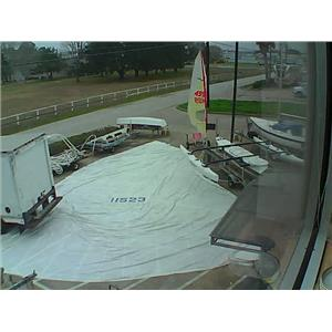 Symmetrical Spinnaker w 51-5 Luff from Boaters' Resale Shop of TX 1901 0245.94