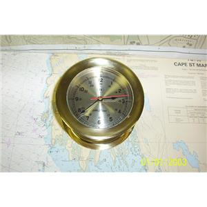 Boaters Resale Shop of TX 1902 0777.05 SETH THOMAS 1055 CHARLESTON SHIP'S CLOCK