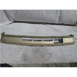 Volvo 240 front bumper lower valence 86-93