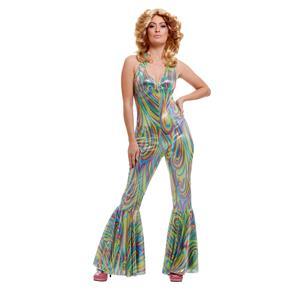Dancing Queen Disco Fever Adult Costume Small 2-4