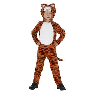 Smiffy's Tiger Child Costume with Hood Size Medium