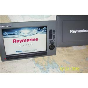 Boaters Resale Shop of TX 1903 1725.02 RAYMARINE C140W MULTI NAV DISPLAY E62115