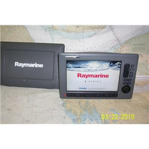 Boaters Resale Shop of TX 1903 1725.41 RAYMARINE C120W MULTI NAV DISPLAY E62113