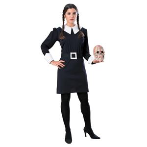 Addams Family Wednesday Addams Adult Costume Size Large