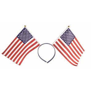 Forum Novelties Patriotic American Flag Red, White and Blue Headband