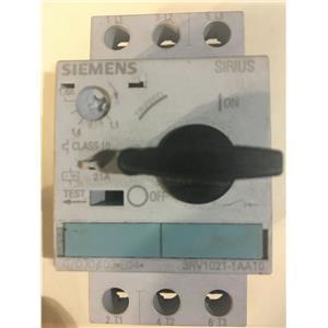SIEMENS 3RV1021-1AA10 Combination Motor Controller
