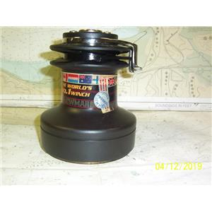 Boaters' Resale Shop of TX 1904 0447.51 LEWMAR 30 TWO SPEED BLACK ALUMINUM WINCH