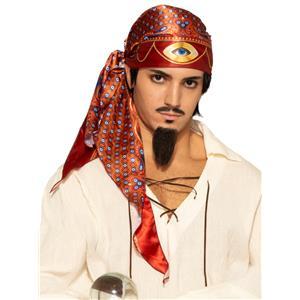 Fortune Teller Third Eye Headscarf Gypsy Hat Accessory
