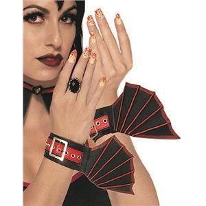 Vampire Wrist Cuffs Bat Wings Costume Accessories