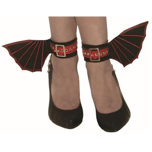 Vampire Ankle Cuffs Gothic Bat Wings Costume Accessories