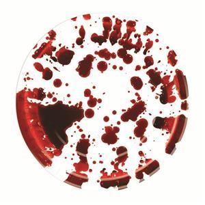 "Blood Splatter Paper Plates 9"" Halloween Party Pack 8/pkg"