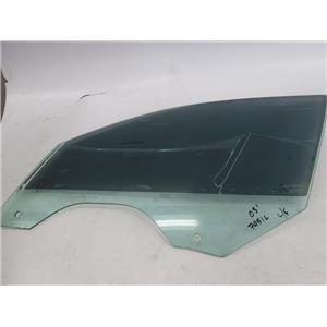 BMW E66 E65 745iL left front window glass 02-05