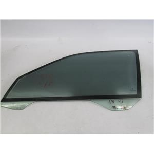 BMW E38 750IL left front window glass double pane