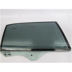 BMW E38 750IL right rear window glass double pane