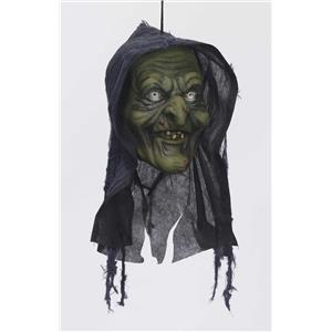 Witch Hanging Head Halloween Prop