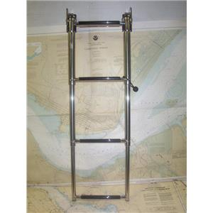 Boaters' Resale Shop of TX 1905 0721.01 GARELICK 19684 EEZ-IN 4 STEP LADDER