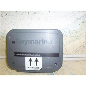 Boaters' Resale Shop of TX1905 2252.54 RAYMARINE ACU-100 WHEELPILOT ACTUATOR
