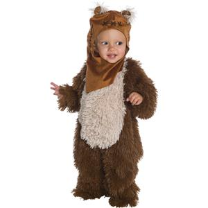 Star Wars Classic Ewok Deluxe Plush Costume Romper Infant