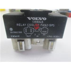 Volvo fan switch relay 1398845