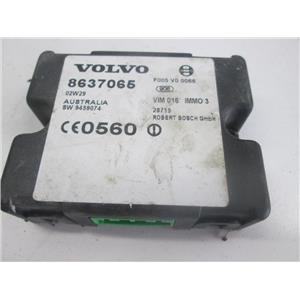 Volvo anti theft control module 8637065