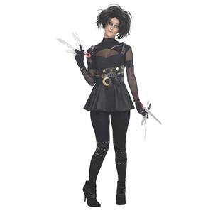 Miss Edward Scissorhands Adult Sexy Costume Size Small