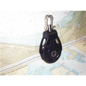 "Boaters' Resale Shop of TX 1905 2251.14 HARKEN 3"" ALUMINUM SINGLE BLOCK"