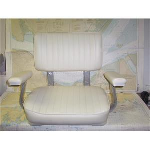 Boaters' Resale Shop of TX 1906 0742.02 B&M 4000ARNS-204 HELM SEAT WITH ARM REST
