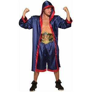 Forum Novelties Mens Blue Boxer Fighter Costume for Adults