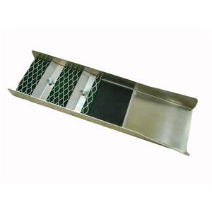"NEW Back Packing 18"" Long Aluminum Sluice Box - River - Creek - Gold Mat"