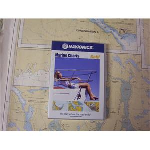 Boaters' Resale Shop of TX 1705 4105.57 NAVIONICS CF/3XG GOLD COMPACT FLASH CARD