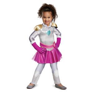 Nella The Princess Knight Classic Child Girl Costume White Toddler 3T-4T