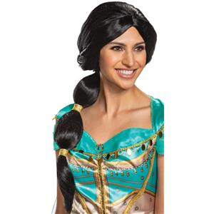 Jasmine Disney Princess Disguise Adult Costume Wig