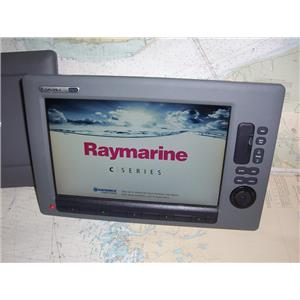 Boaters Resale Shop of TX 1907 0745.01 RAYMARINE C140W MULTI NAV DISPLAY E62115