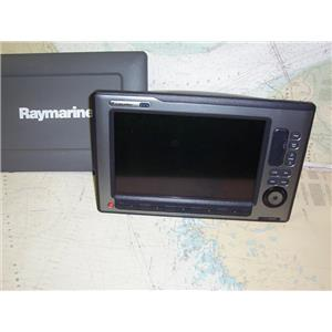 Boaters Resale Shop of TX 1907 0745.15 RAYMARINE E120W HYBRIDTOUCH DISPLAY ONLY
