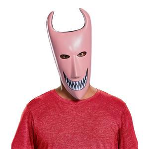 Disney Nightmare Before Christmas Pink Lock Grin Mask
