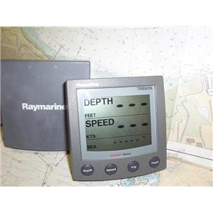 Boaters' Resale Shop of TX 1907 0745.44 RAYMARINE ST60 TRIDATA DISPLAY ONLY