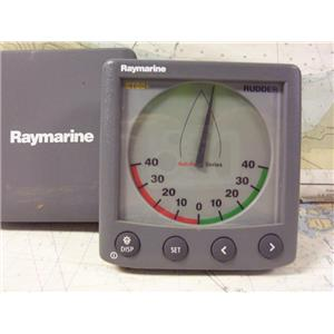 Boaters' Resale Shop of TX 1907 0745.31 RAYMARINE ST60+ RUDDER ANGLE DISPLAY